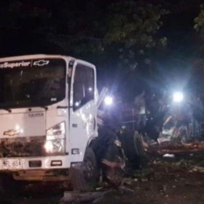 Detonan coche bomba cerca de estación de Policía en Colombia