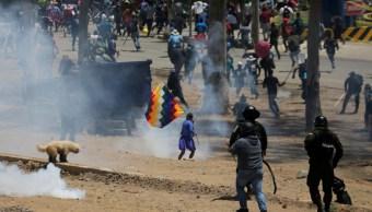Foto: Protestas en Cochabamba, Bolivia. Reuters