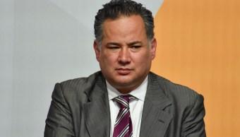 Foto: Santiago Nieto, titular de la Unidad de Inteligencia Financiera (UIF). Cuartoscuro