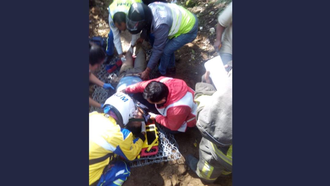 Muere una persona y tres más resultan heridas por derrumbe en Tlalpan, CDMX - Noticieros Televisa