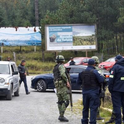 Francés y mexicano no viajaban juntos cuando los secuestraron en el Nevado de Toluca