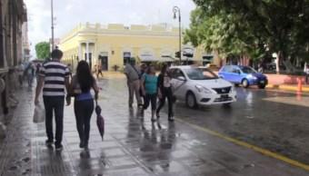 Foto: La Comisión Nacional del Agua reportó descensos de temperatura menores a 20 grados centígrados, 9 de noviembre de 2019 (Noticieros Televisa)