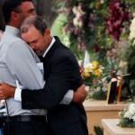 """Foto: Los funerales se realizaron en el rancho """"La Mora"""" en presencia de familiares y amigos, el 7 de noviembre de 2019 (AP)"""