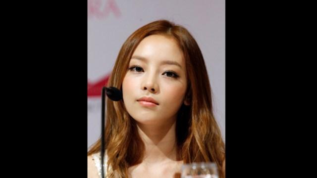 fOTO: La cantante surcoreana Goo Hara, 24 noviembre 2019