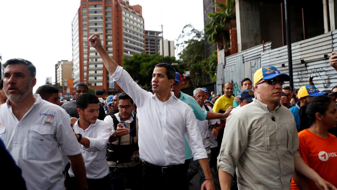 Imagen: La Administración de Guaidó cuenta con el respaldo de los principales Gobiernos de la región y de Estados Unidos, 17 de noviembre de 2019 (Reuters)