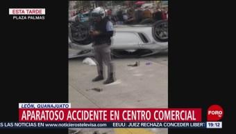 FOTO: Hombre se desmaya ocasiona aparatoso accidente