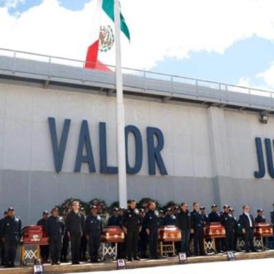 Indemnizan a familias de policías a mes y medio de su muerte en Oaxaca