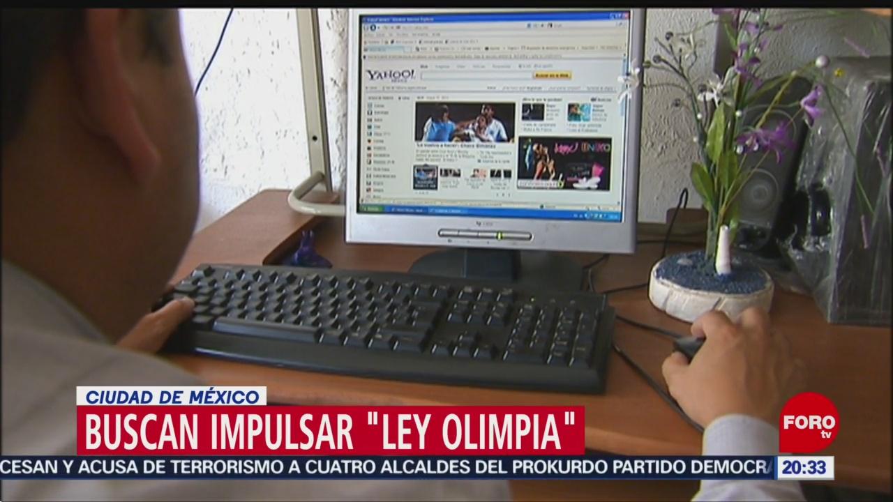 FOTO: Impulsan 'Ley Olimpia' contra la difusión no consentida de imágenes en la CDMX, 13 noviembre 2019