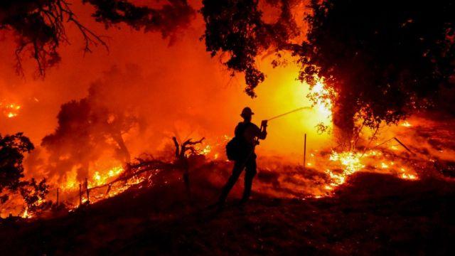 Incendio en Santa Bárbara, California.