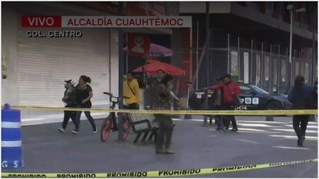 Foto: Un hombre en situación de calle fue hallado sin vida, 17 de noviembre de 2019 (Foro TV)