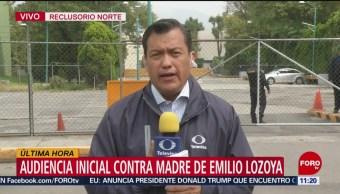 FOTO:Inicia audiencia en reclusorio norte de mamá de Emilio Lozoya, 2 noviembre 2019