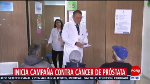 Foto: Campaña Contra Cáncer Próstata 19 Noviembre 2019