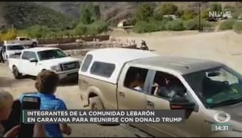 FOTO: Integrantes de comunidad LeBarón salen en caravana hacia EEUU, 19 noviembre 2019