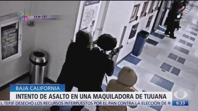 Intento de asalto termina en balacera en Tijuana