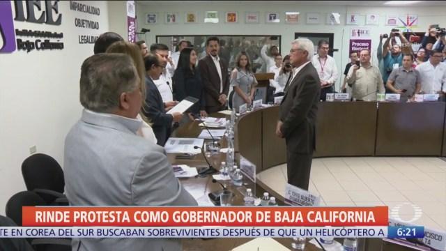 FOTO: Jaime Bonilla rinde protesta como gobernador de Baja California, 1 noviembre 2019