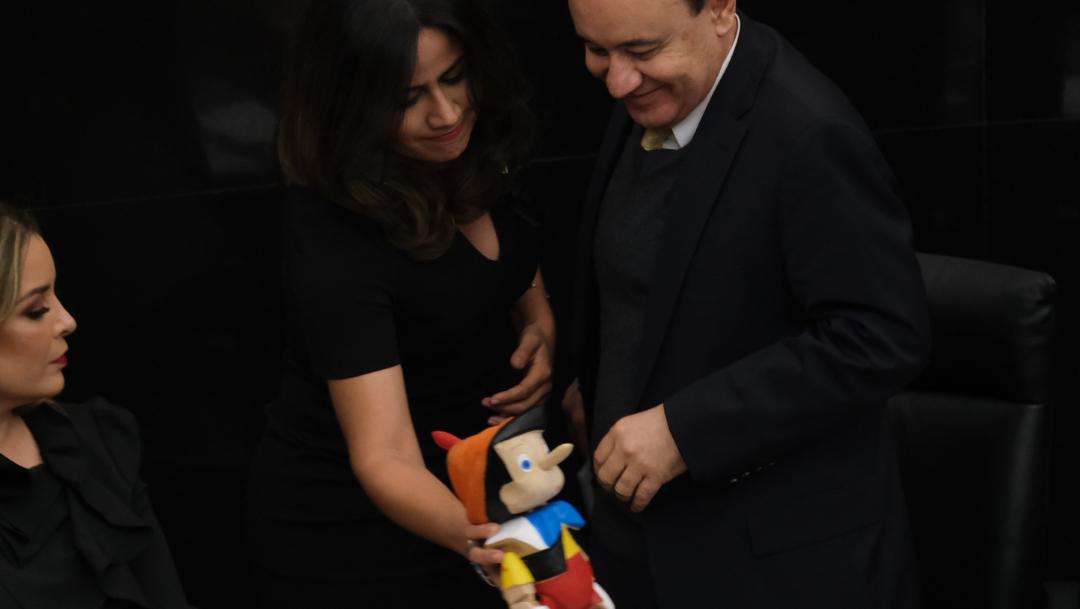 FOTO Javier Duarte critica a panista que dio Pinocho a Durazo (Cuartoscuro)