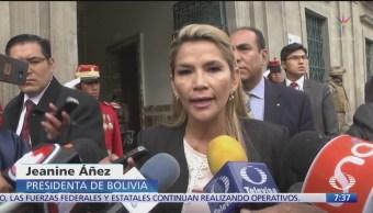 Foto: Jeanine Áñez presidenta interina Bolivia reclamará México activismo Evo