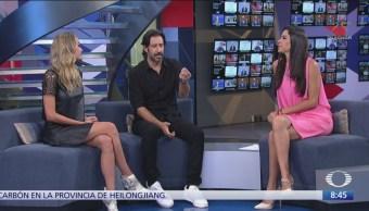 José María Yazpik habla sobre 'Polvo' en el estudio de Al Aire