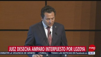 FOTO: Juez desecha amparo interpuesto por Emilio Lozoya, 19 noviembre 2019