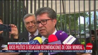 Foto: Juicio Político Si Desacatan Recomendaciones Cndh 20 Noviembre 2019