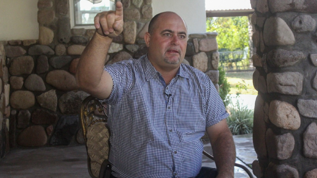 Foto: Julián LeBarón, activista y miembro de la comunidad LeBarón asentada en los estados de Sonora y Chihuahua, 28 noviembre 2019