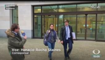 FOTO: Karime Macías pagó fianza lleva proceso libertad,