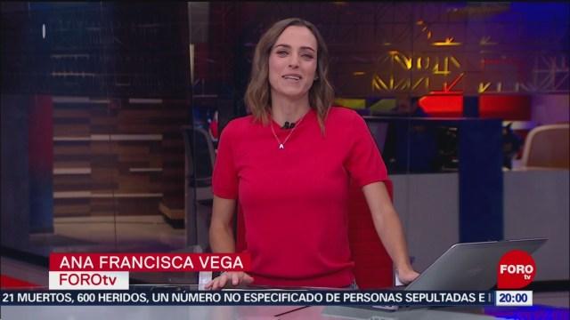 Foto: Las Noticias Danielle Dithurbide Forotv 26 Noviembre 2019