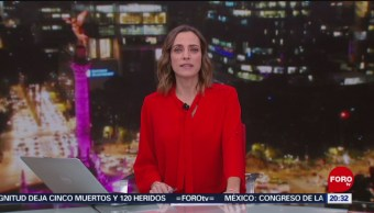 Foto: Las Noticias Ana Francisca Vega Programa Completo Forotv 8 Noviembre 2019