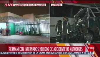 Foto: Lesionados Accidente México-Pachuca Hospitalizados 19 Noviembre 2019