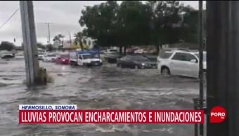 FOTO: Lluvias provocan encharcamientos e inundaciones en Sonora, 19 noviembre 2019