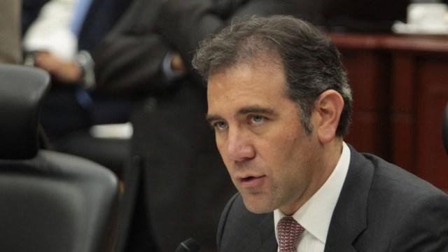 Imagen: El consejero presidente del INE, Lorenzo Córdova, instó a preservar la autonomía del órgano electoral, el 12 de noviembre de 2019. (Cuartoscuro, archivo)