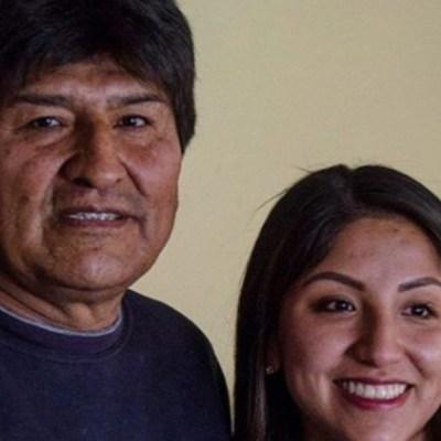 Los hijos de Evo Morales llegan a Buenos Aires, Argentina