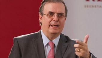FOTO Marcelo Ebrard dialoga con embajador de EU por caso LeBarón (Cuartoscuro/Andrea Murcia)