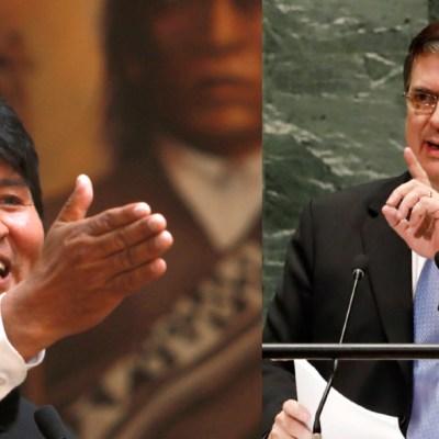 Marcelo Ebrard califica de muy grave situación en Bolivia