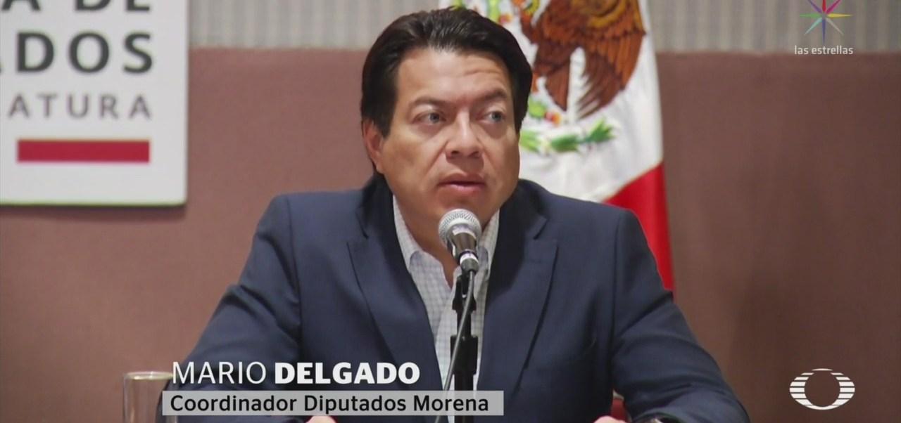 FOTO: Mario Delgado anuncia reasignación de recursos en 2020, 18 noviembre 2019