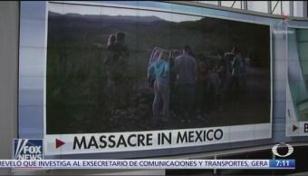 Medios extranjeros destacan en primera plana violencia en México