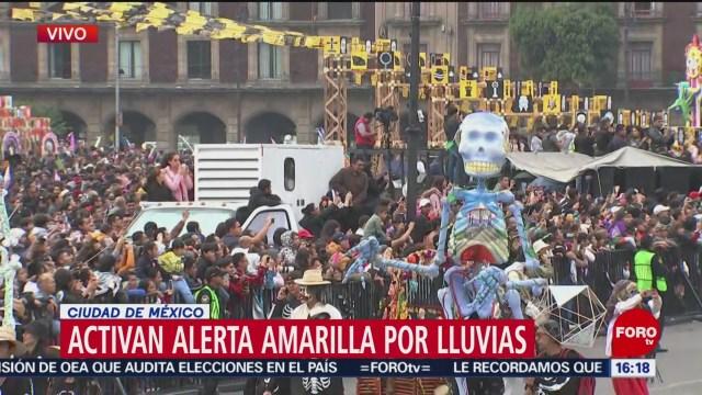 Mega Desfile de Día de Muertos llega al Zócalo
