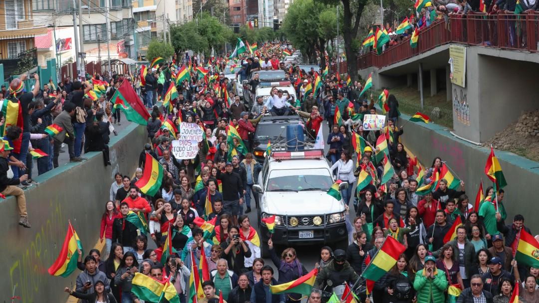 Foto: México hará valer el derecho de asilo, dice Ebrard tras renuncia de Evo Morales,11 de noviembre de 2019, Ciudad de México