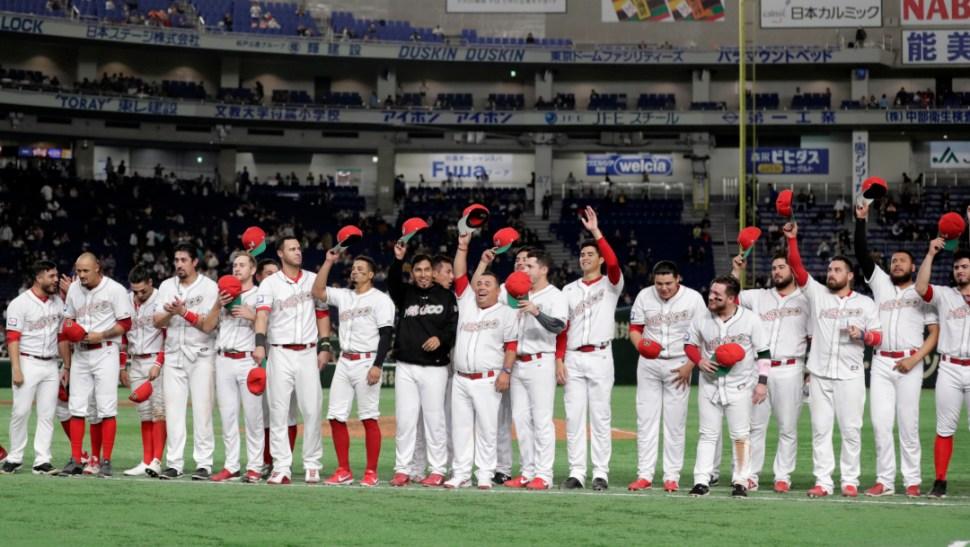 FOTO México logra pase a Juegos Olímpicos en béisbol, AMLO felicita a jugadores (Getty Images)