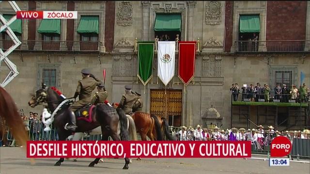 FOTO: México recuerda 20 noviembre desfile conmemorativo CDMX
