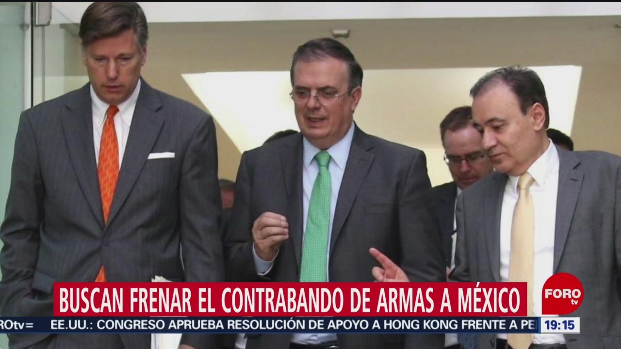 Foto: Armas Contrabando México Estados Unidos Buscan Frenar 21 Noviembre 2019