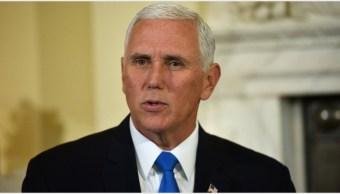 Imagen: Mike Pence resaltó la importancia de aprobar el T-MEC, 2 de noviembre de 2019 (Getty Images)