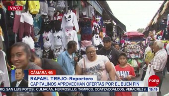 FOTO:Miles aprovechan descuentos del Buen Fin en la Lagunilla, 17 noviembre 2019