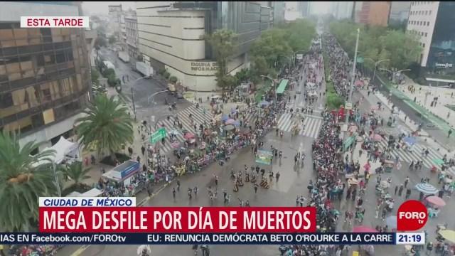 Miles de visitantes disfrutaron a lo grande el Mega Desfile de Día de Muertos
