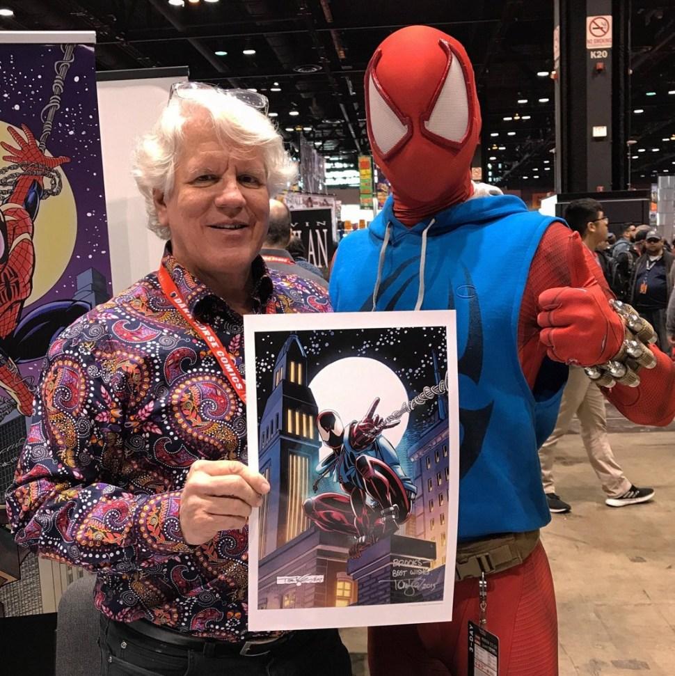 Tom Lyle, dibujante de Marvel y DC
