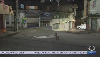 Mueren tres hombres baleados en la Ciudad de México