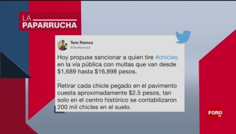Foto: Multas Tirar Chicles Vía Pública Noticias Falsas 8 Noviembre 2019