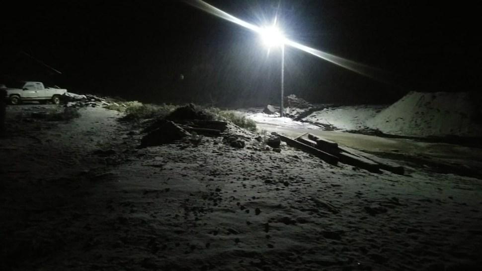 FOTO Caen las primeras nevadas en municipios de Durango