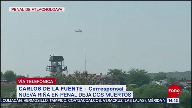 FOTO: Nueva riña penal Atlacholoaya deja dos muertos