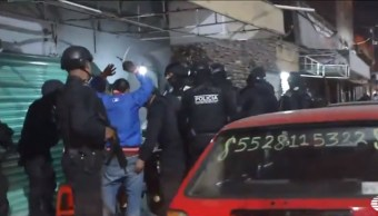Foto: Personal de la PGJCDMX cateó cuatro establecimientos en la colonia Puebla, de la alcaldía Venustiano Carranza, 14 noviembre 2019